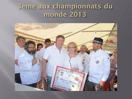 championnats du monde 2013
