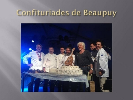 Avec Hugues Aufray aux confituriades de Beaupuy