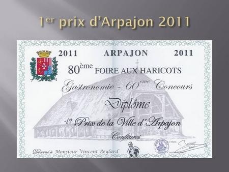 1er prix d'Arpajon